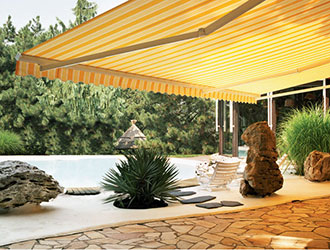 SunShade Retractable Patio Awning Installation Berks County PA